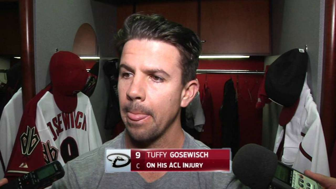 Gosewisch undergoes surgery to repair ACL
