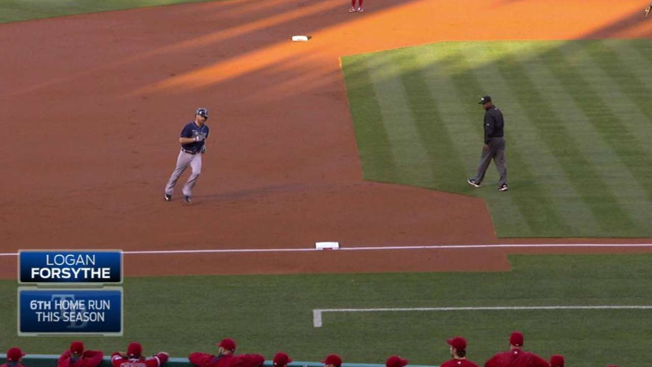 Forsythe's towering two-run shot