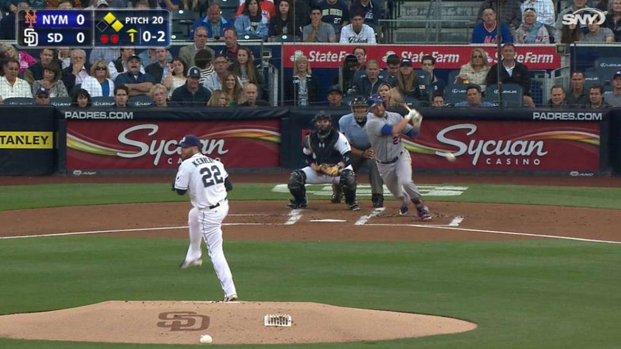 Mets fall in SD, despite Thor's 10 hammers