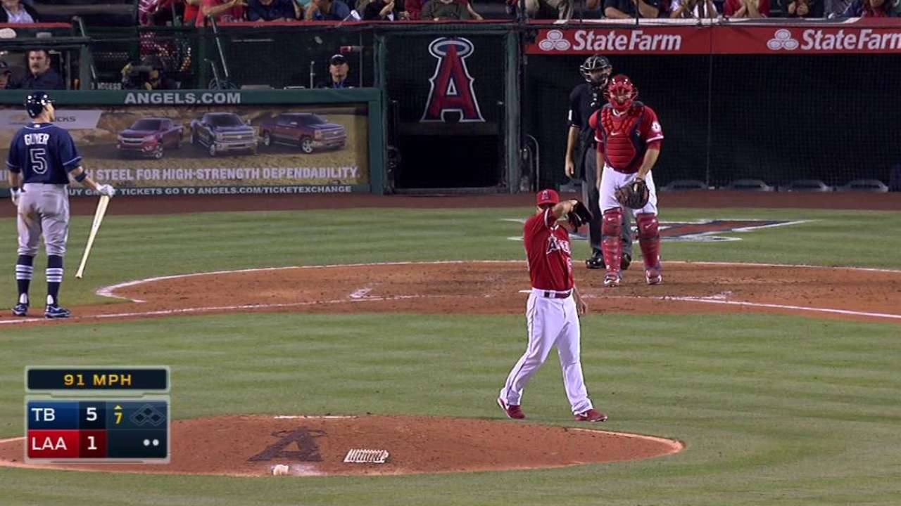 Ibarra gets first ML strikeout