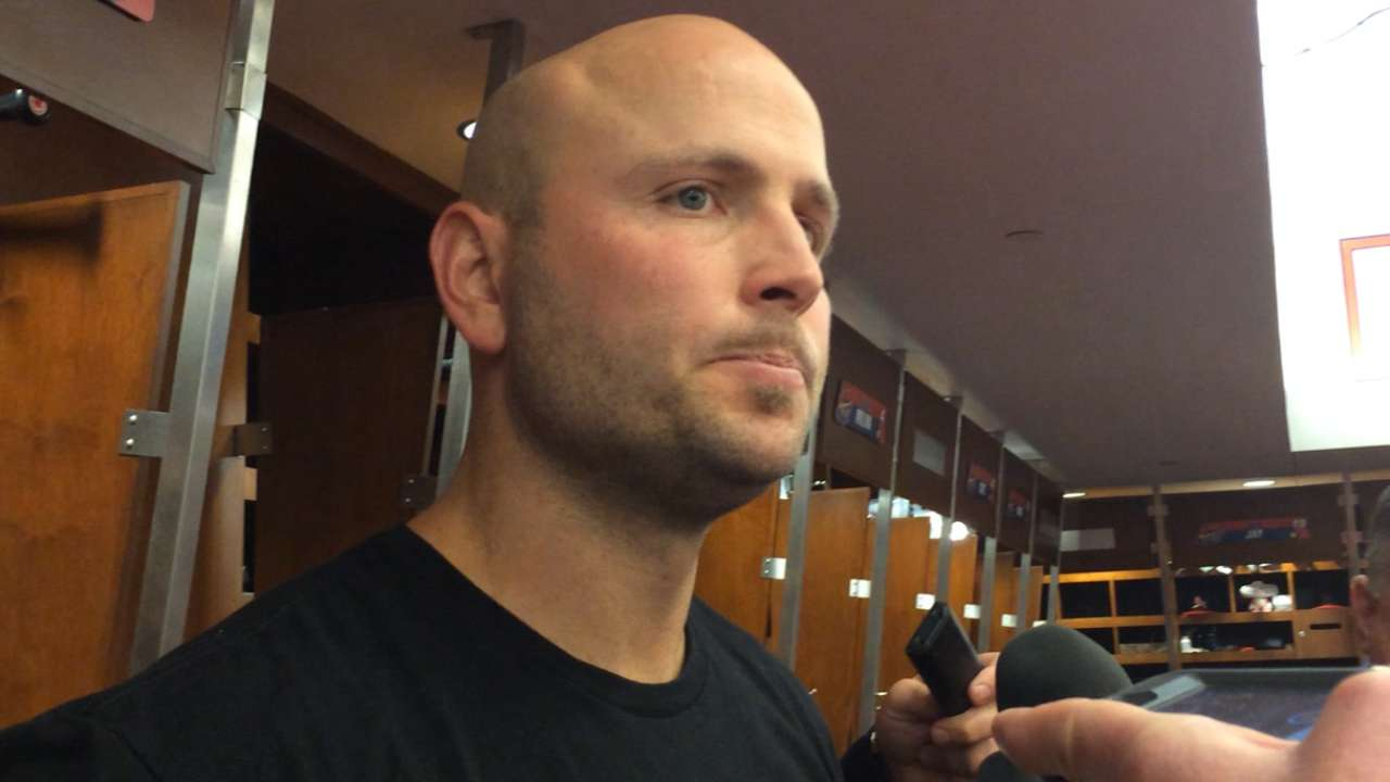 Holliday on ejection, streak