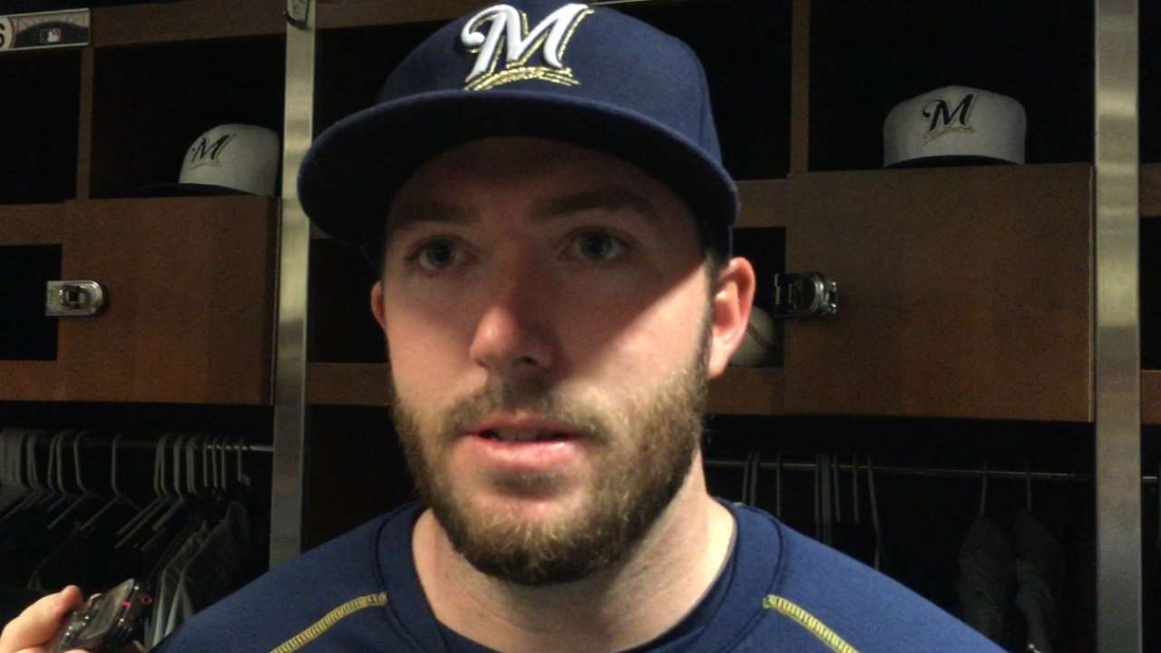 Cravy on executing in MLB debut
