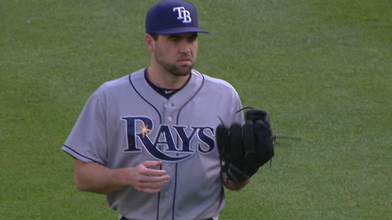 Karns proving to be an asset in Rays' rotation