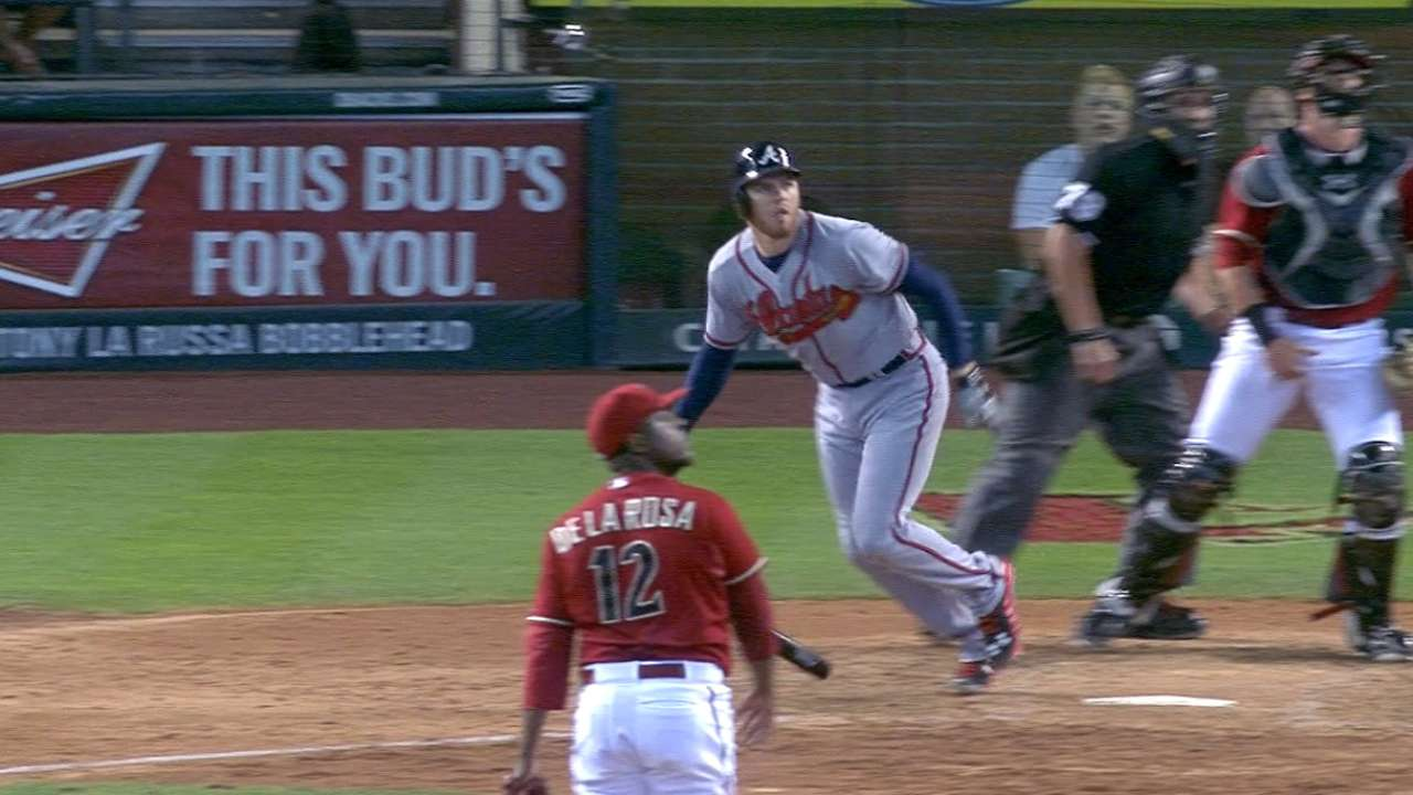Freeman's two-homer game