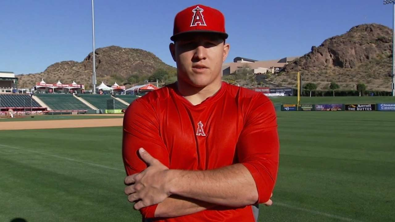 Trout on his Draft memories