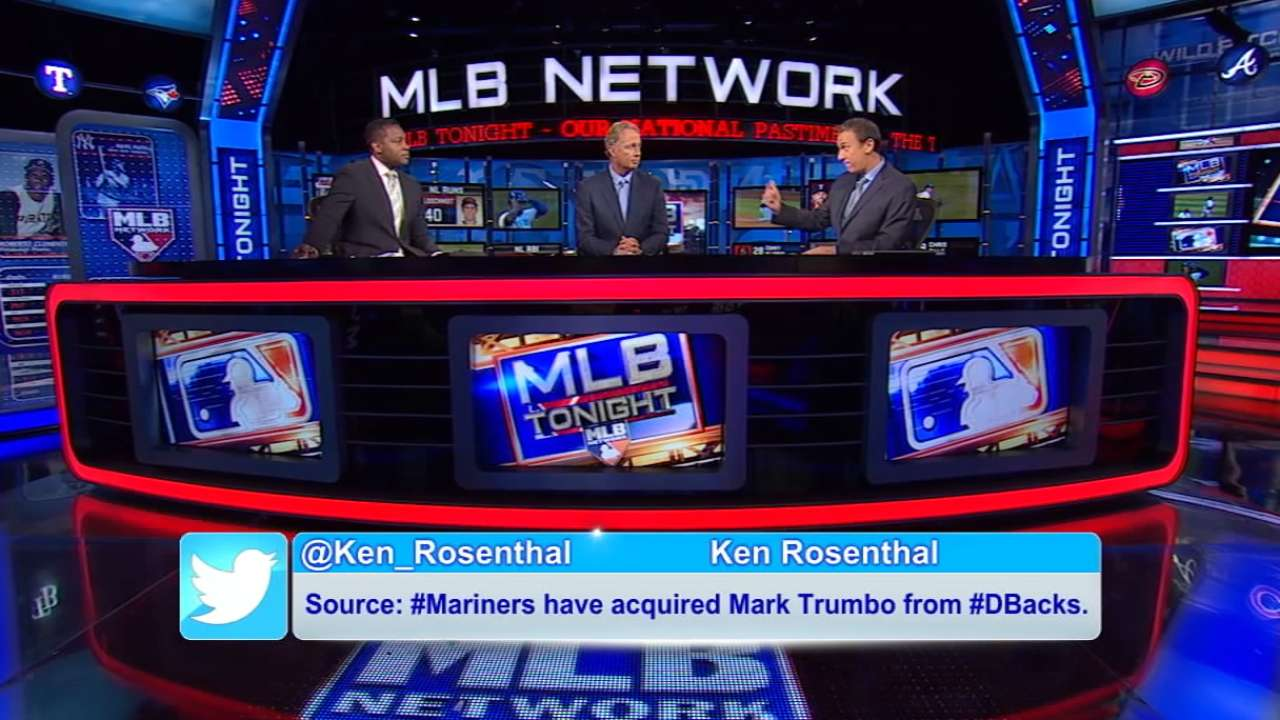 MLB Tonight: Trumbo trade