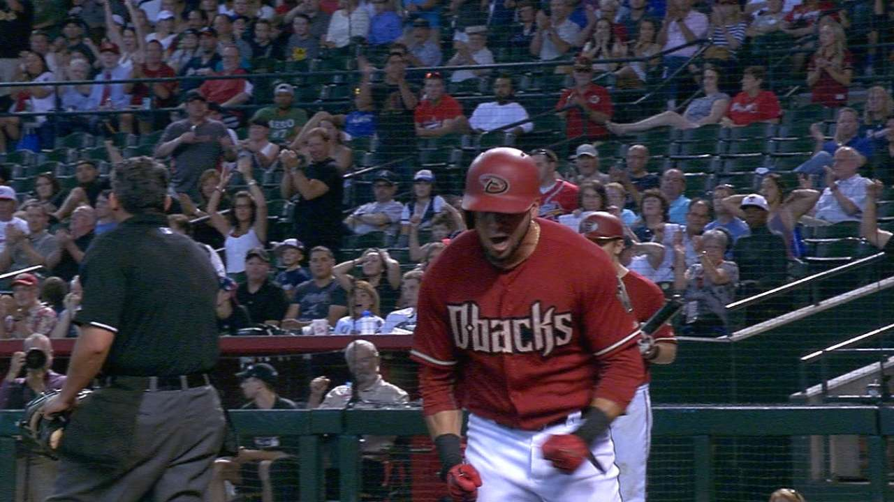 D-backs rally, take lead in 7th