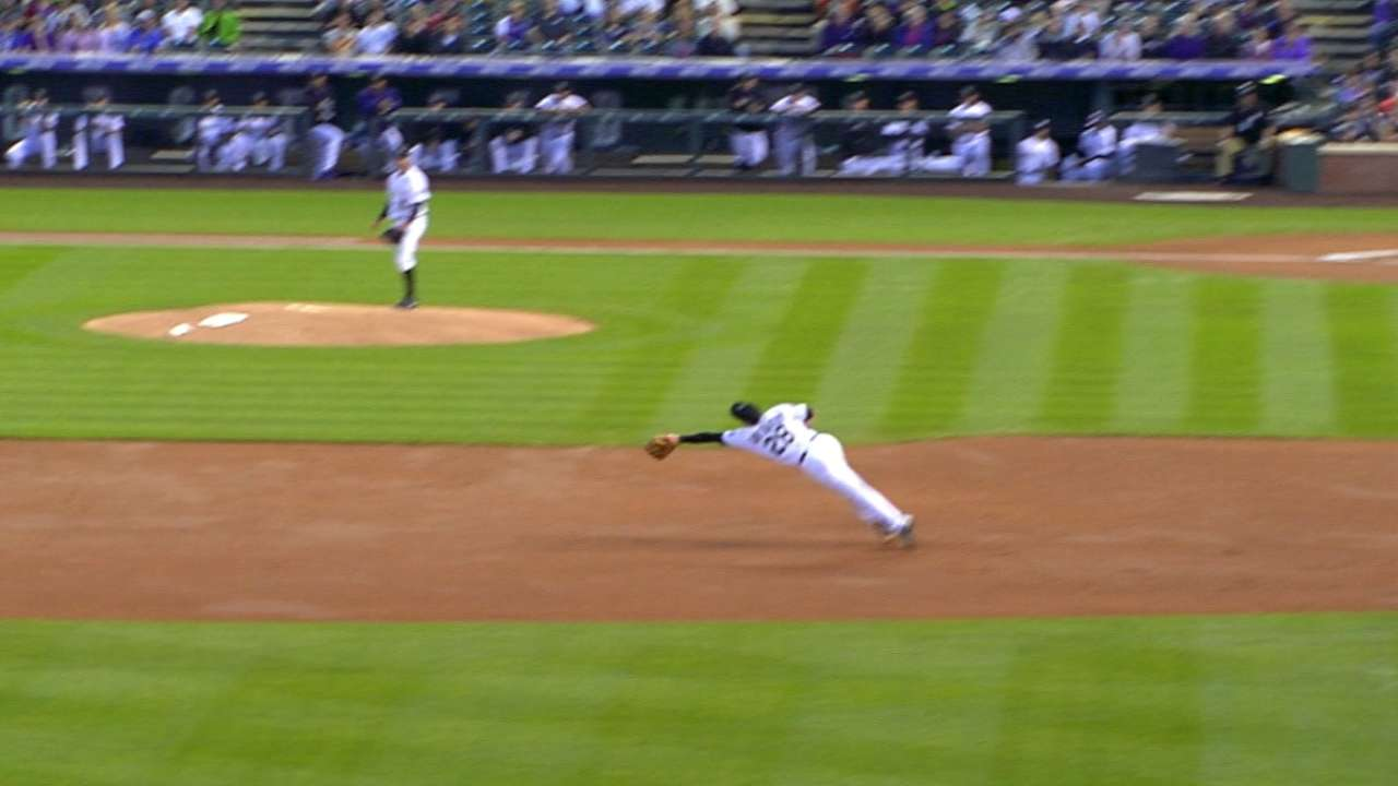 Arenado's diving catch