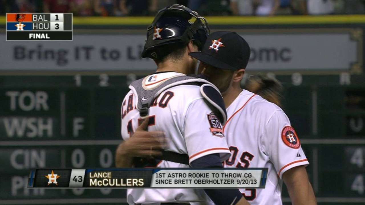 McCullers K's Davis for win