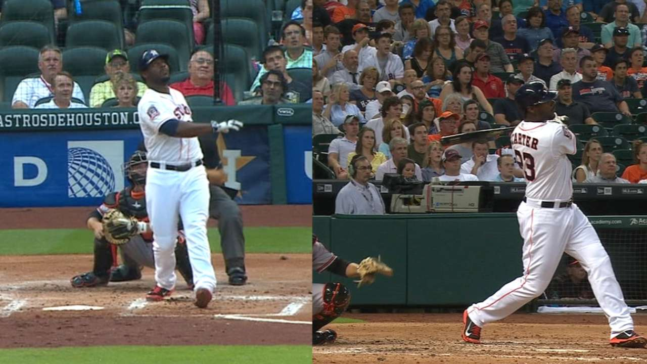 Must C: Carter doubles up on HRs