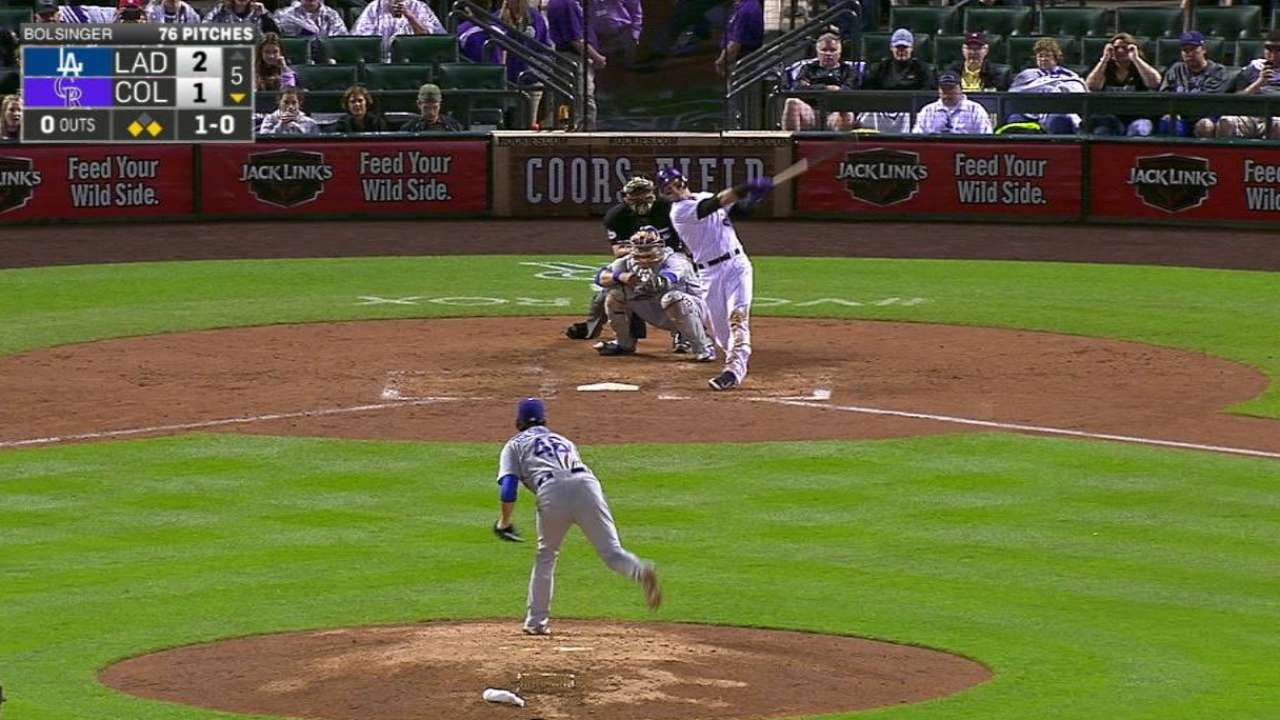 Tulowitzki's three-run homer