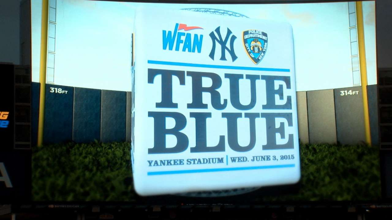 Yankees host 'True Blue' softball game