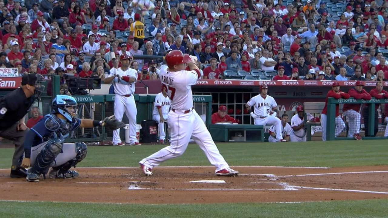 Must C: Trout's screaming homer