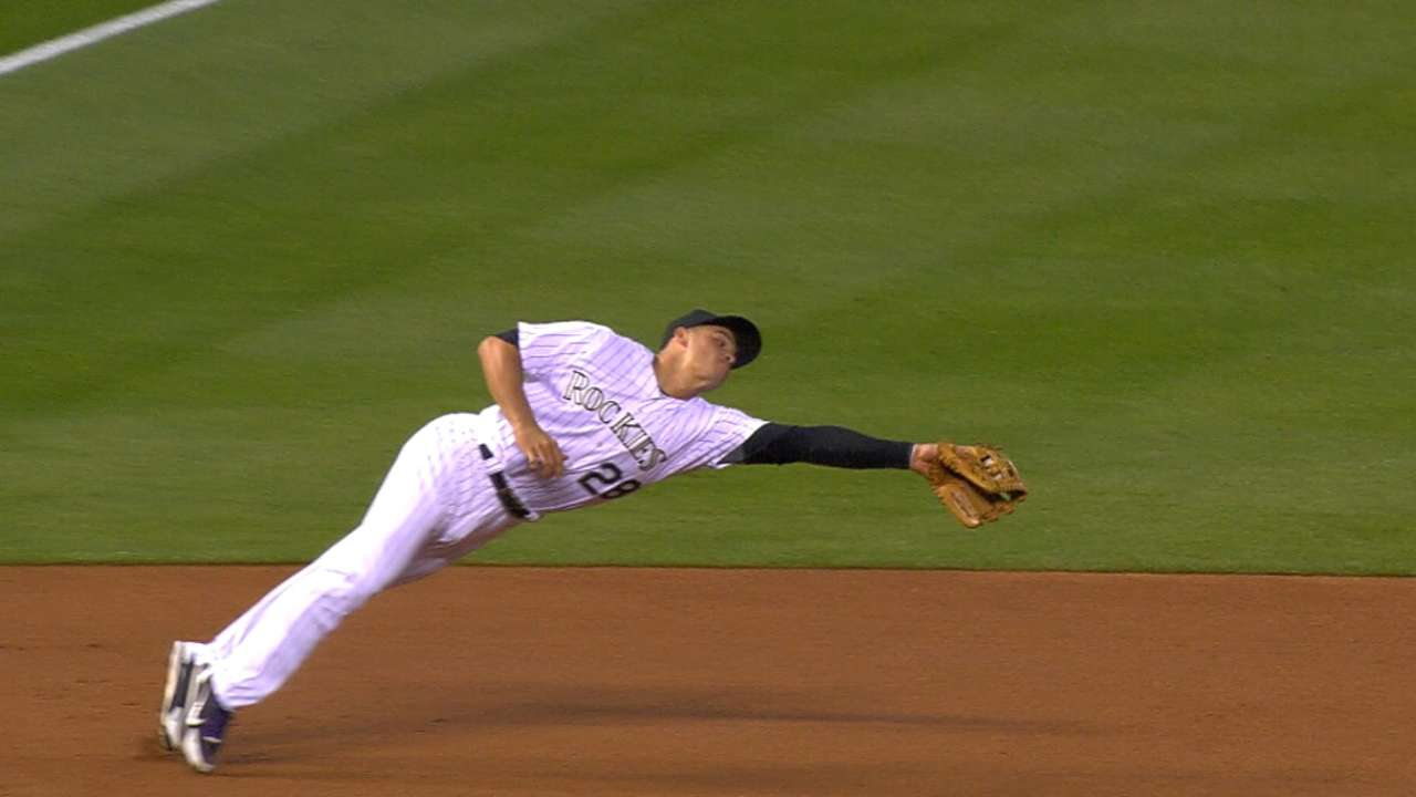 Arenado's amazing defense