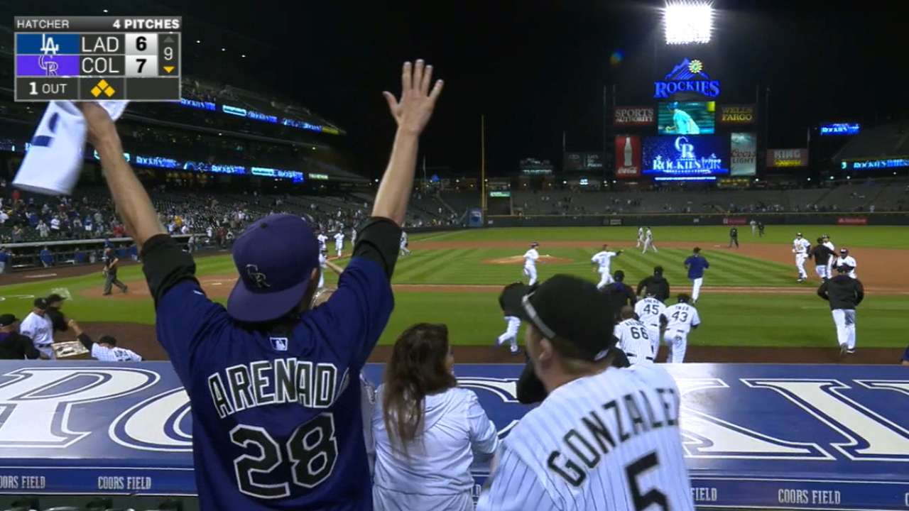 Tulo plates 5, Rox rally for wild walk-off vs. LA