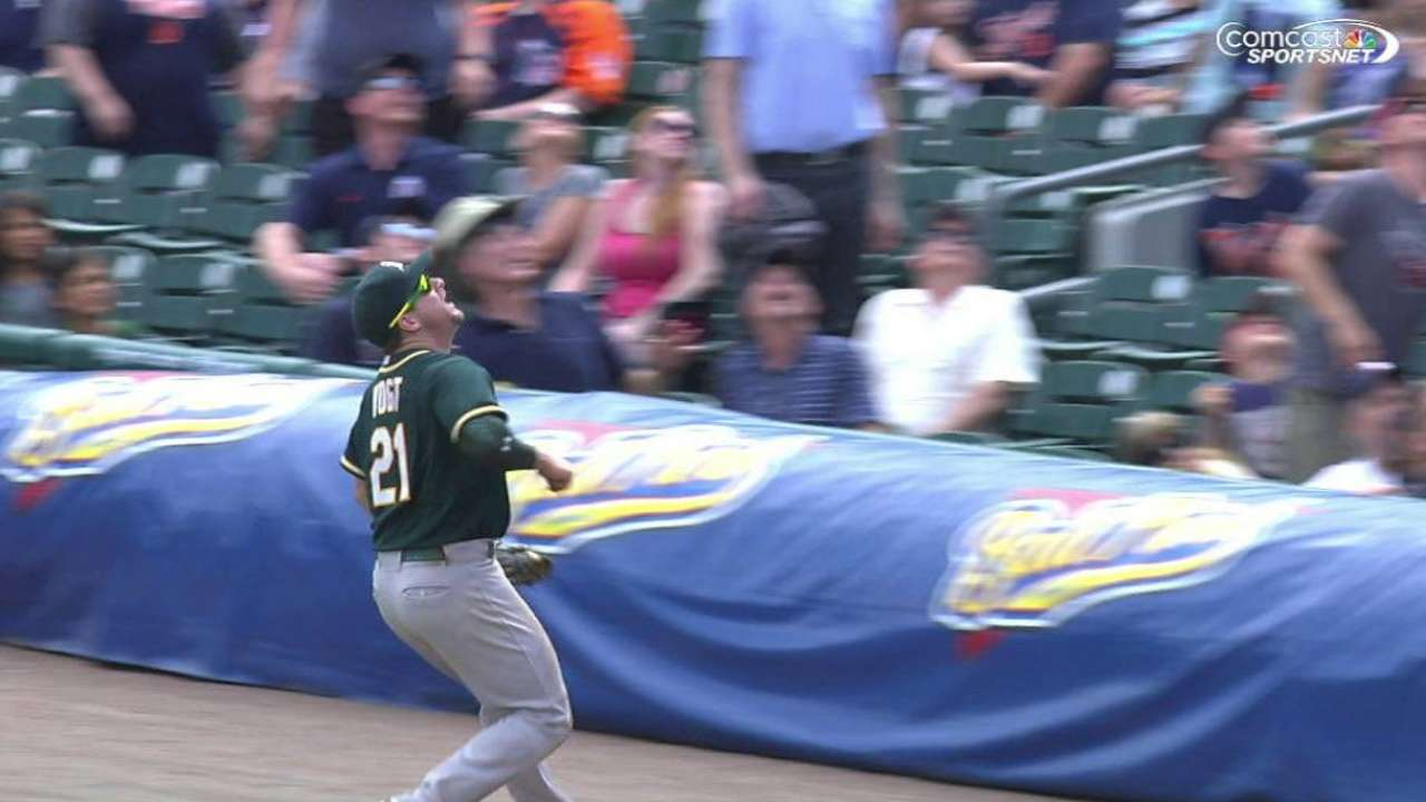 Vogt exits with an injury