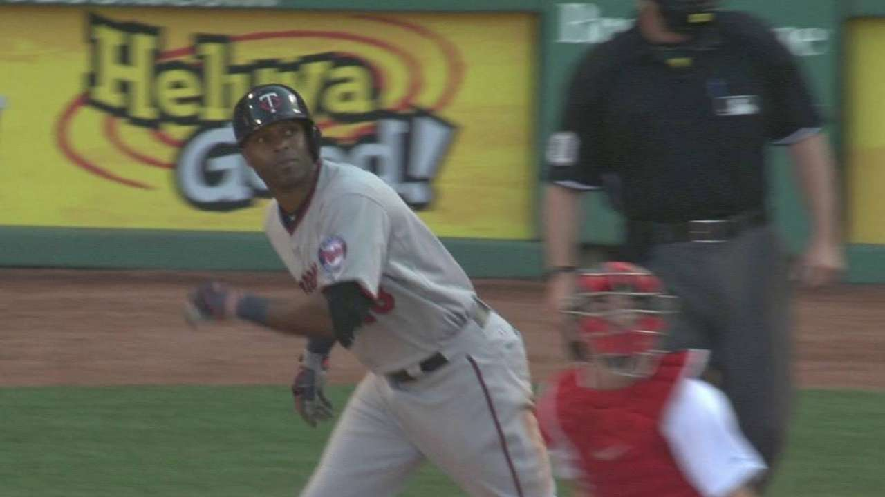 Hunter's three-run homer