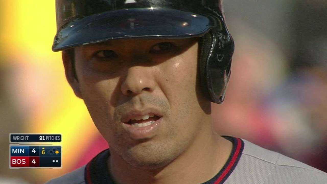 Suzuki's run-scoring single