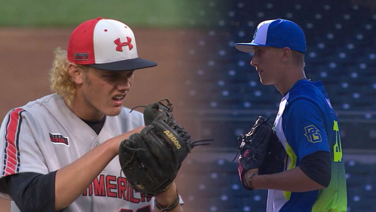 Best tools in the Draft: High school pitchers