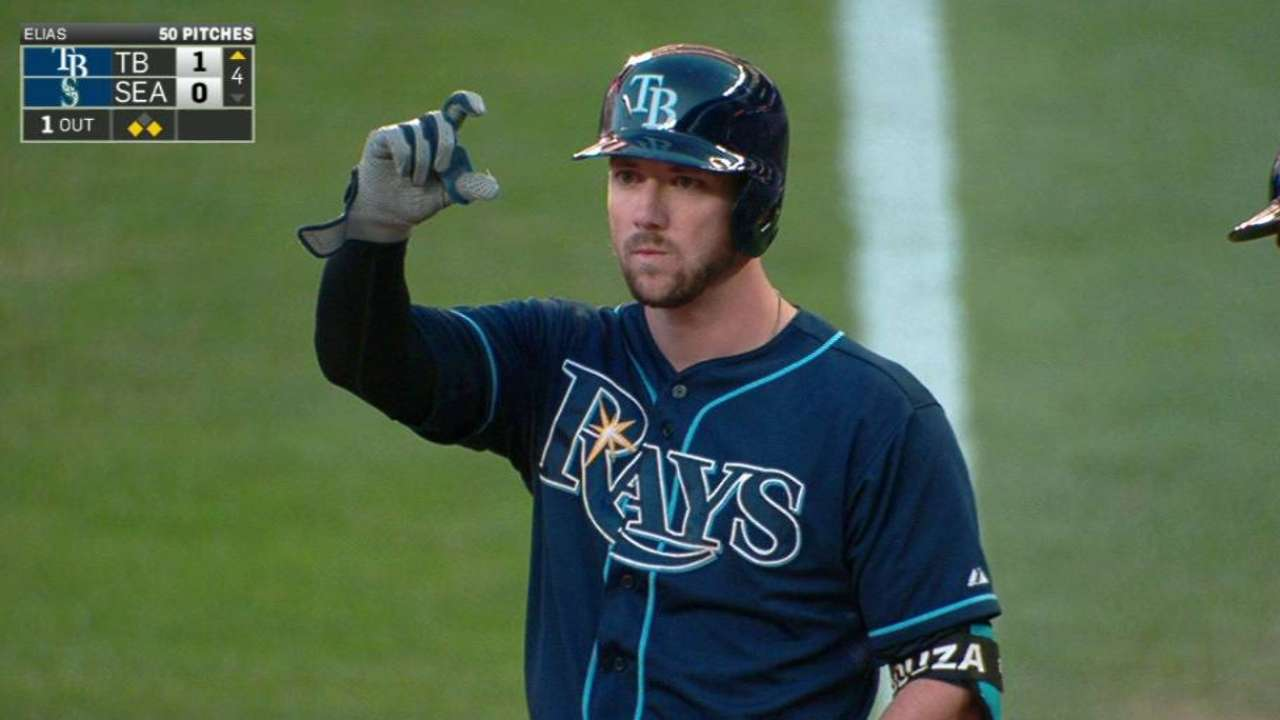 Rays sneak past Mariners in duel
