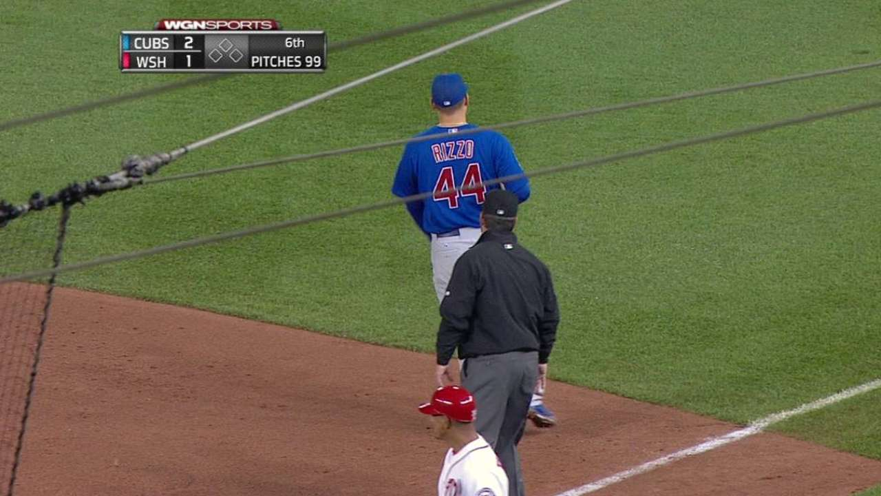 Rizzo snares liner