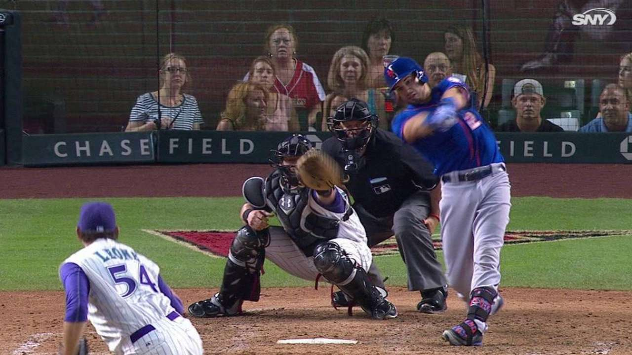 Plawecki's two-run double