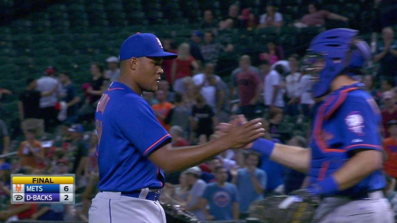 Familia's 5-out save a familiar ending for Mets