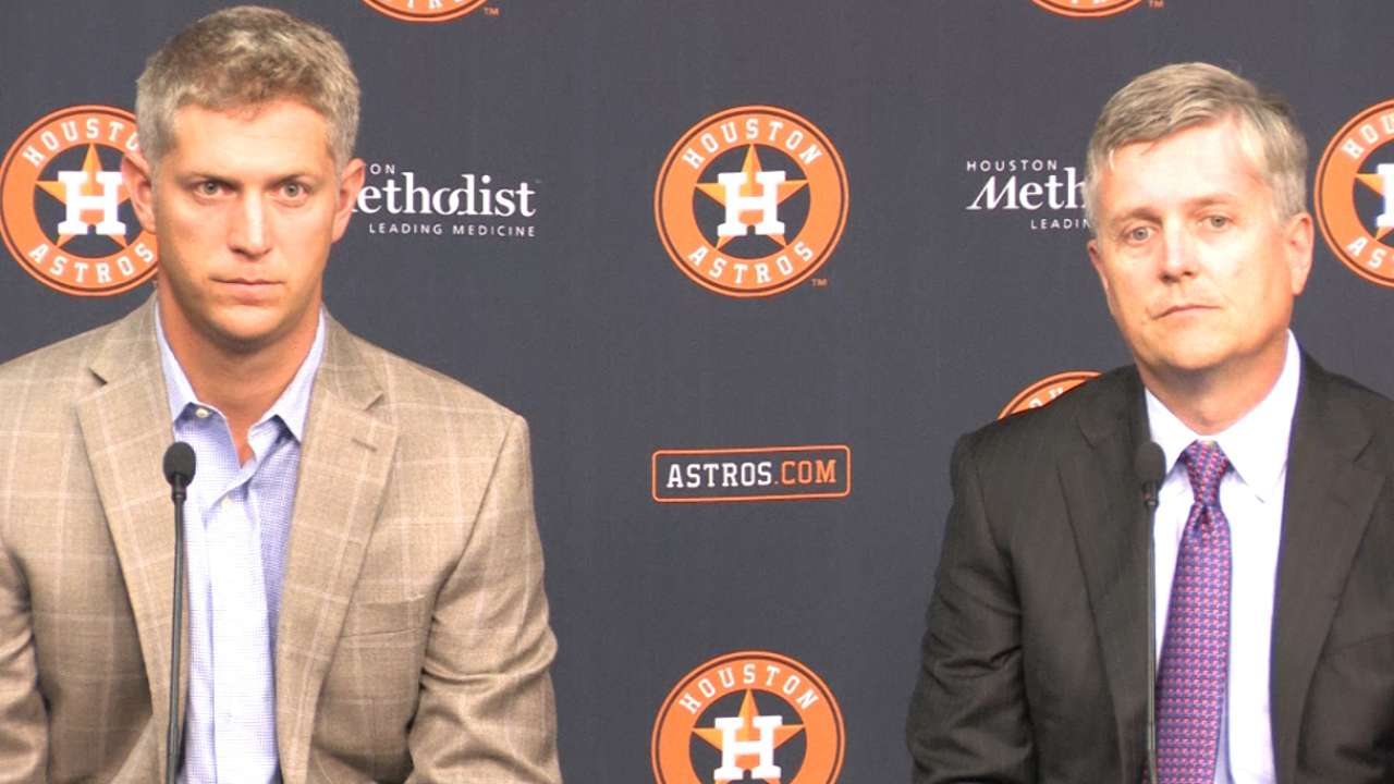 Astros on approach to '15 Draft