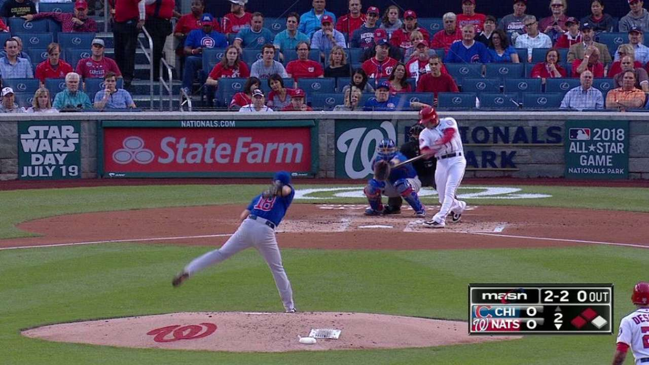 Espinosa's three-run shot