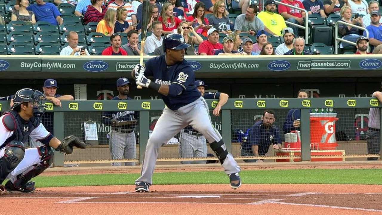 Segura's leadoff home run
