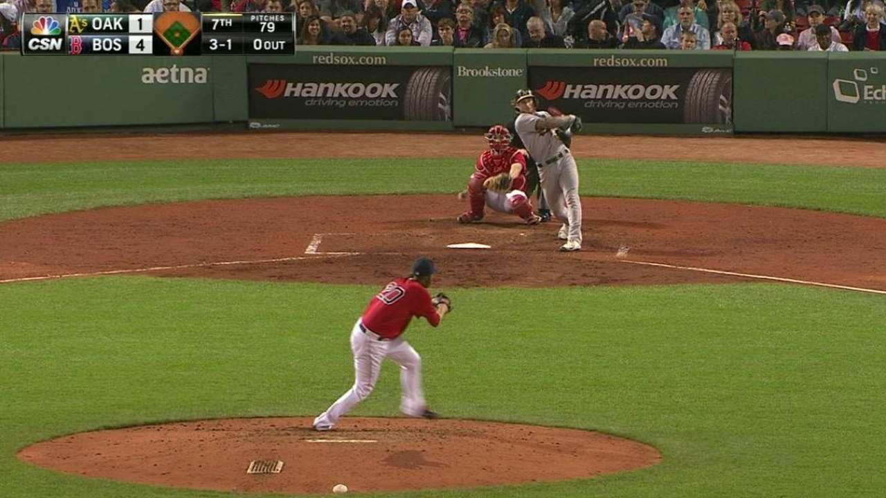 Lawrie homers, but Kazmir struggles vs. Sox