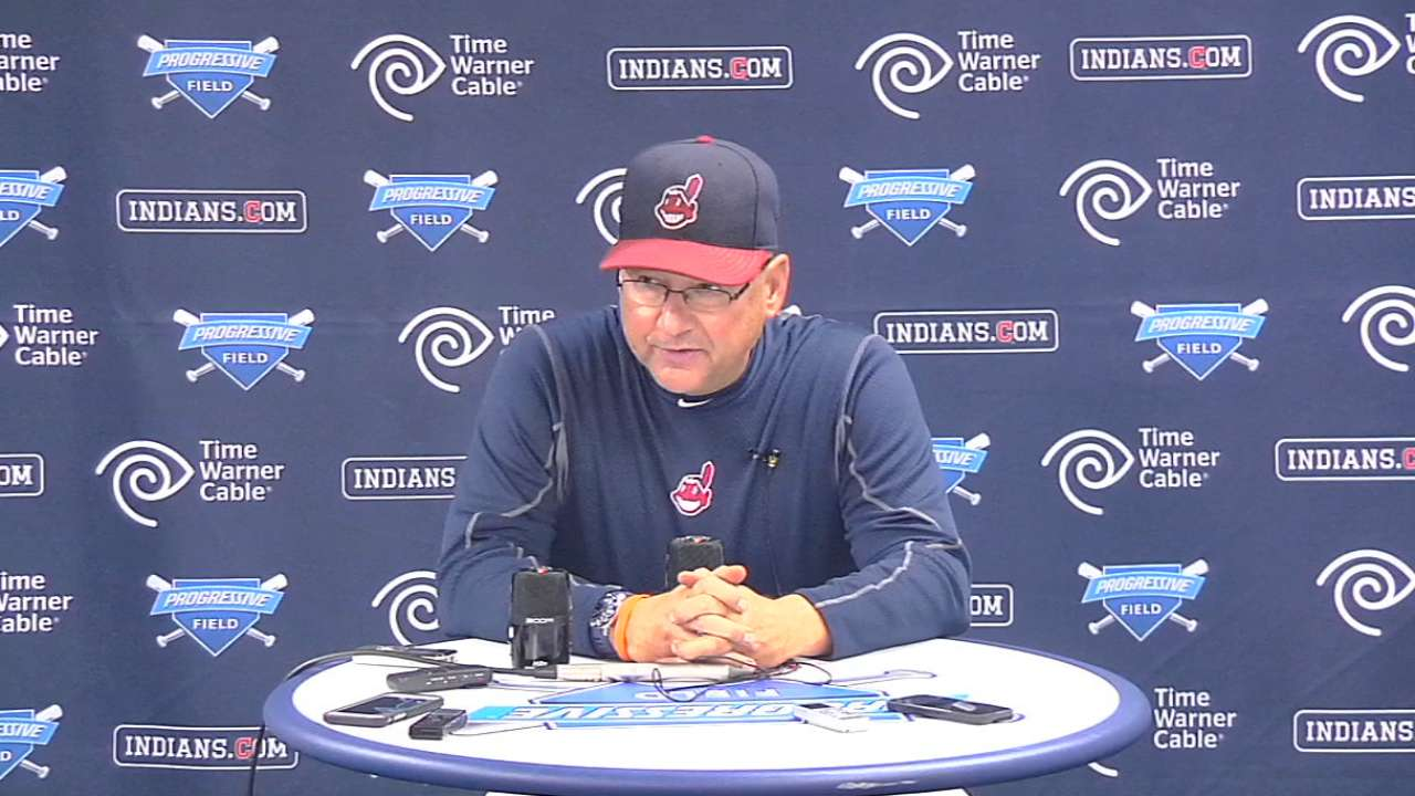 Francona on Indians' 5-2 loss