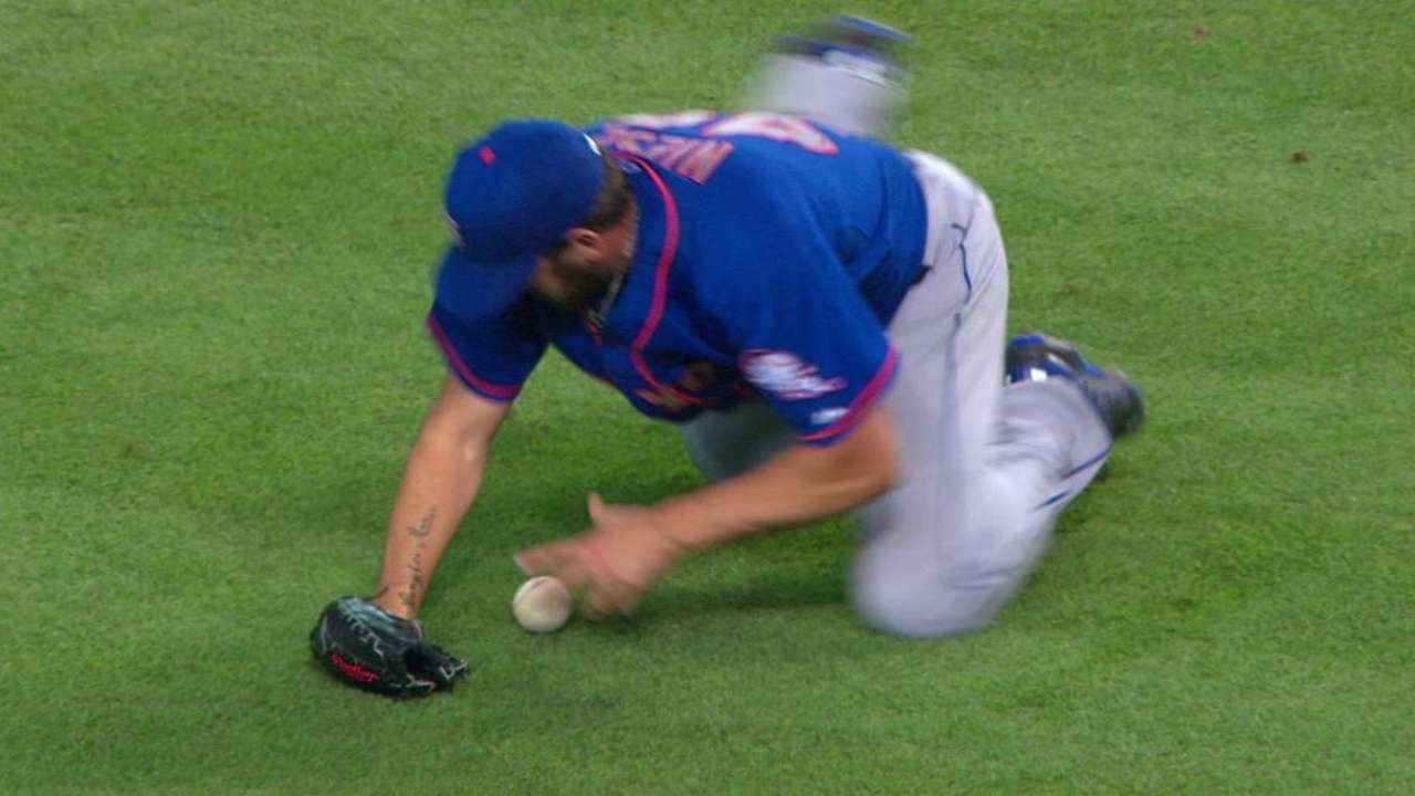 Niese's magnificent diving play