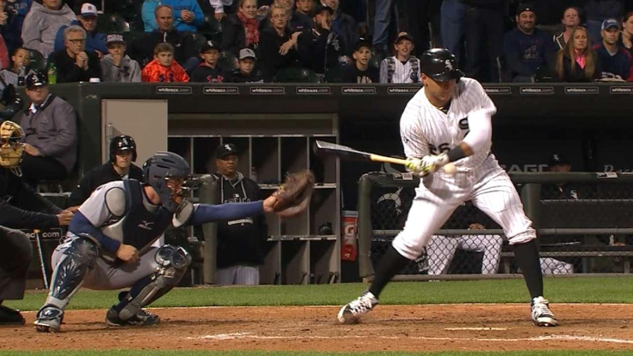 Garcia's walk-off hit-by-pitch