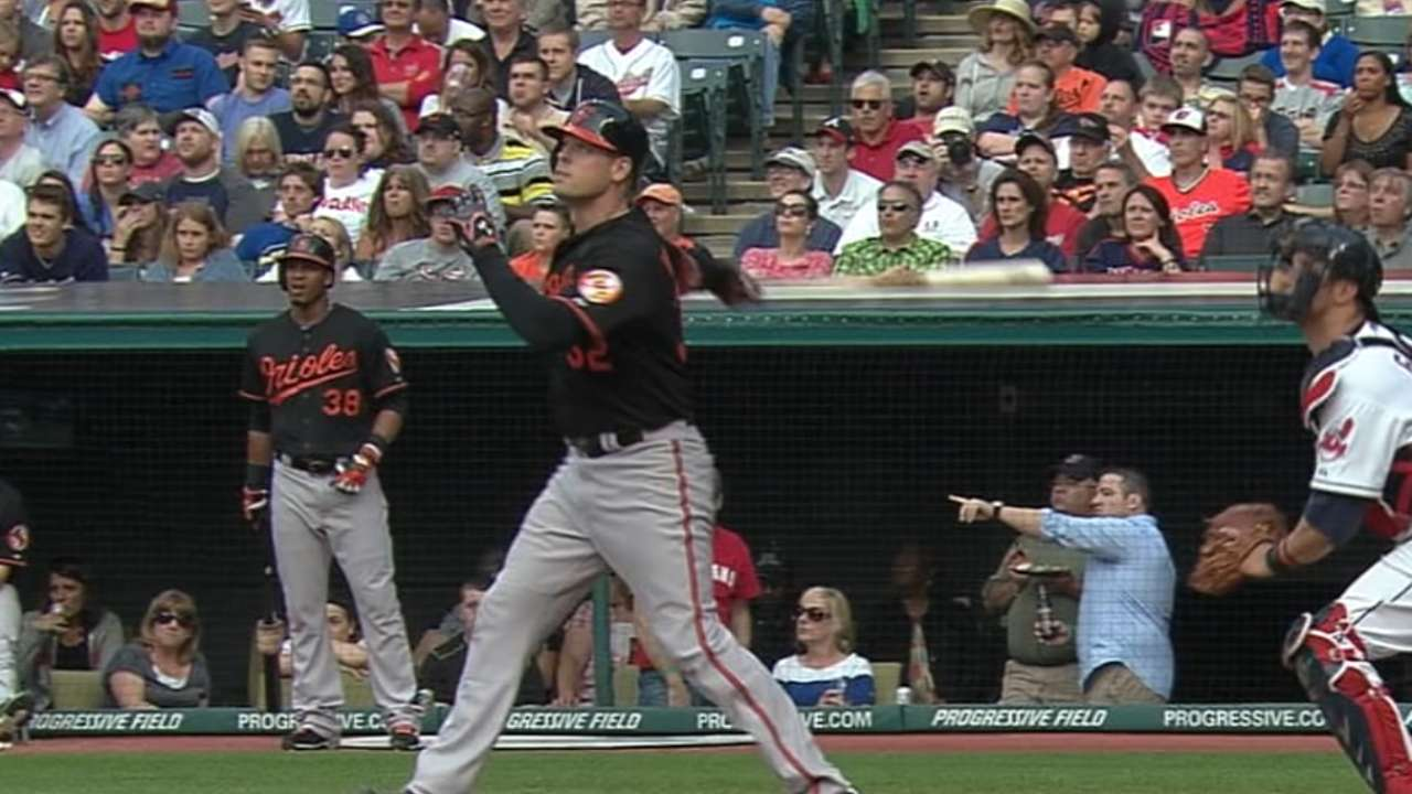 Wieters back in a big way after injury