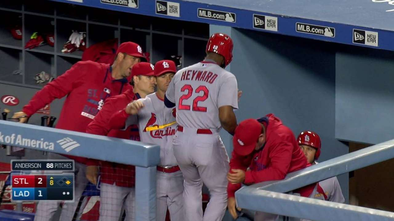 Cardinals use small ball to grab late victory