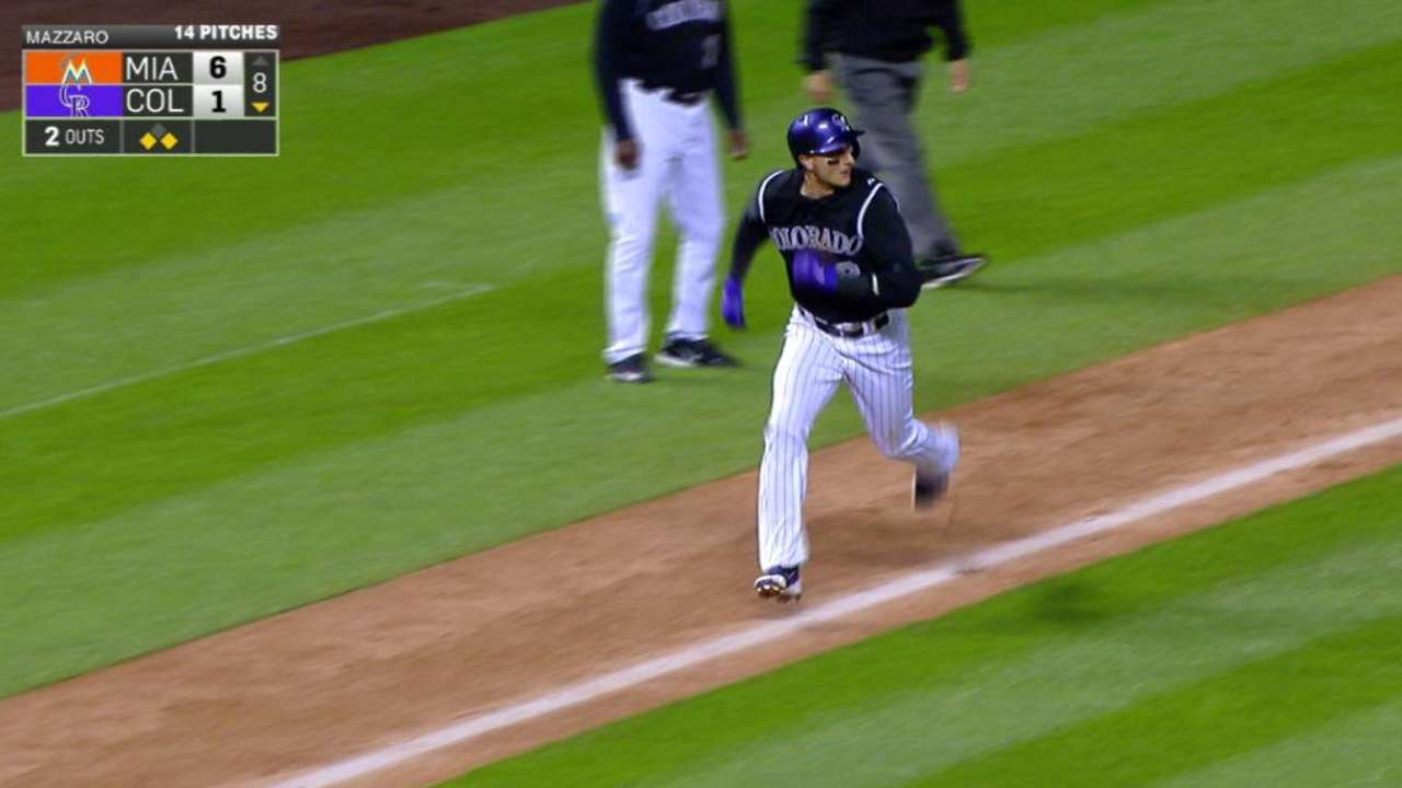 Arenado's sac fly