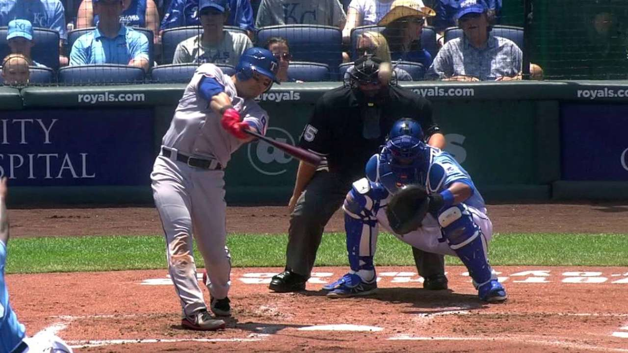 Choo's two-run double