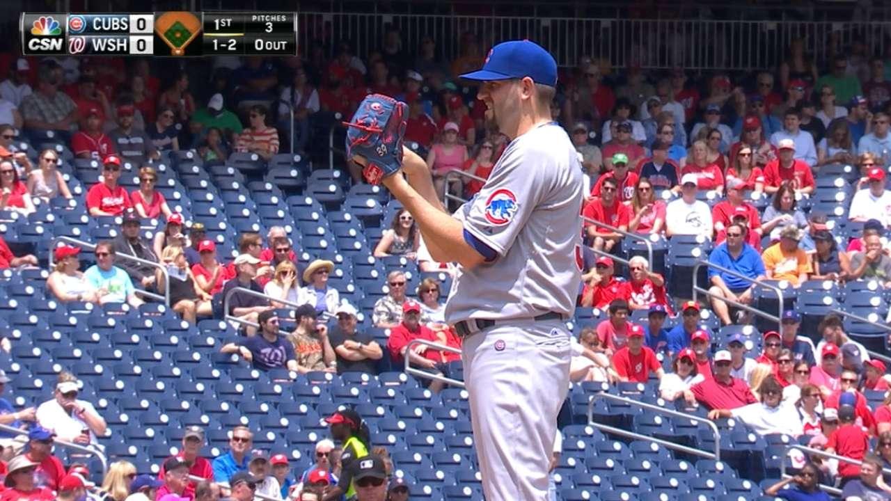 Hammel's brilliance spoils Ross' MLB debut