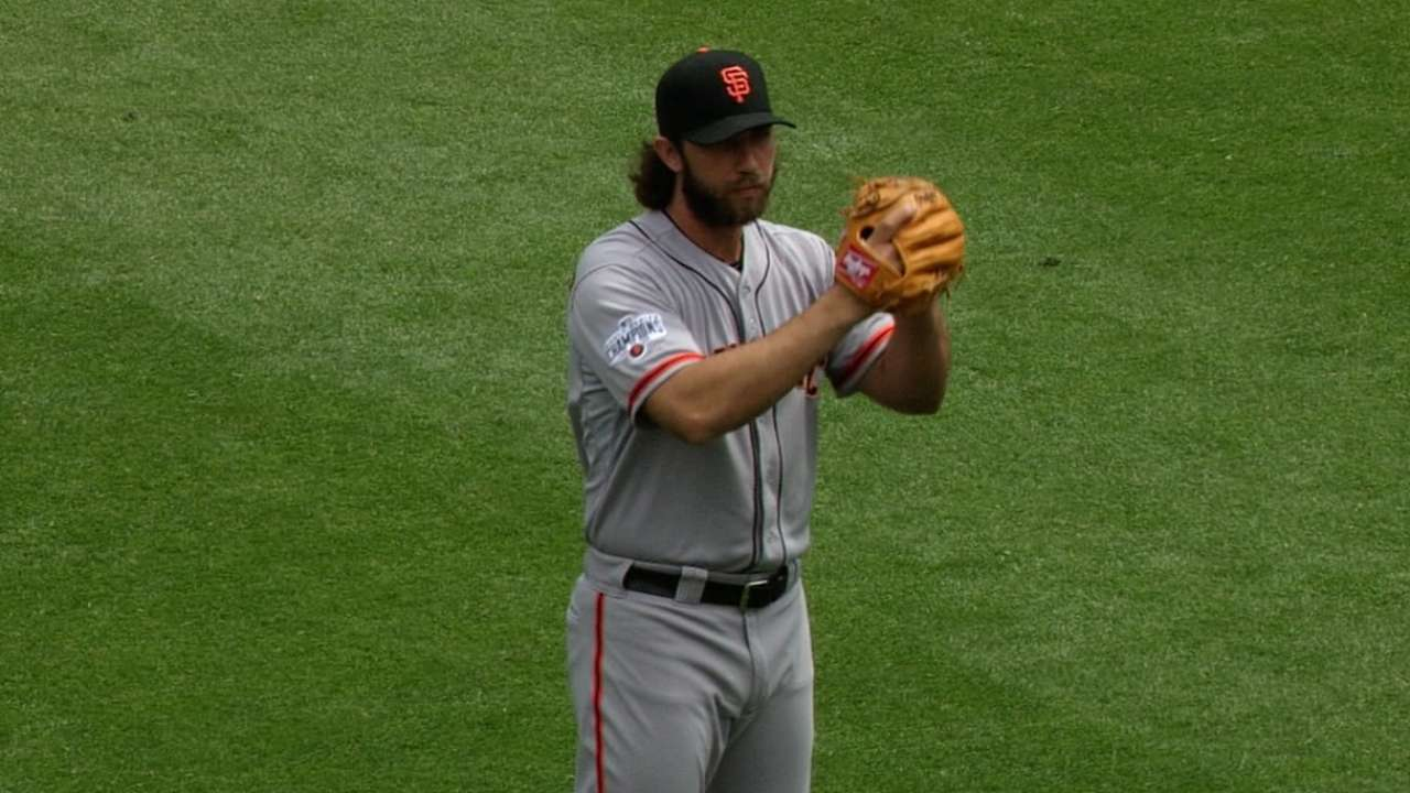 Bumgarner wants wins no matter how he gets them