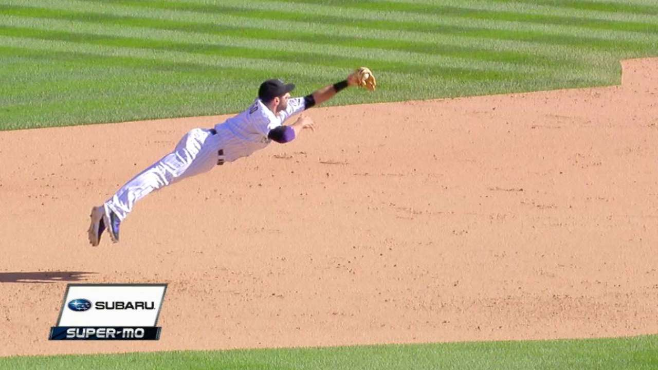 Descalso's clutch diving catch