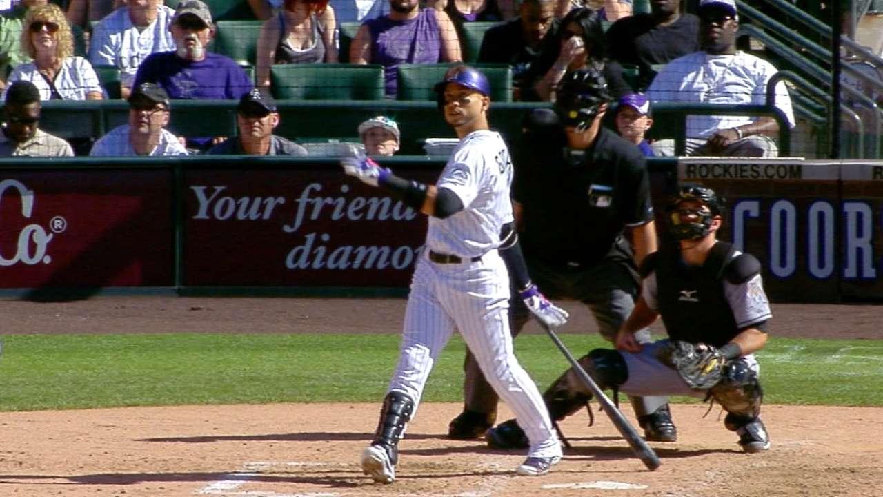 Rox hit back-to-back home runs
