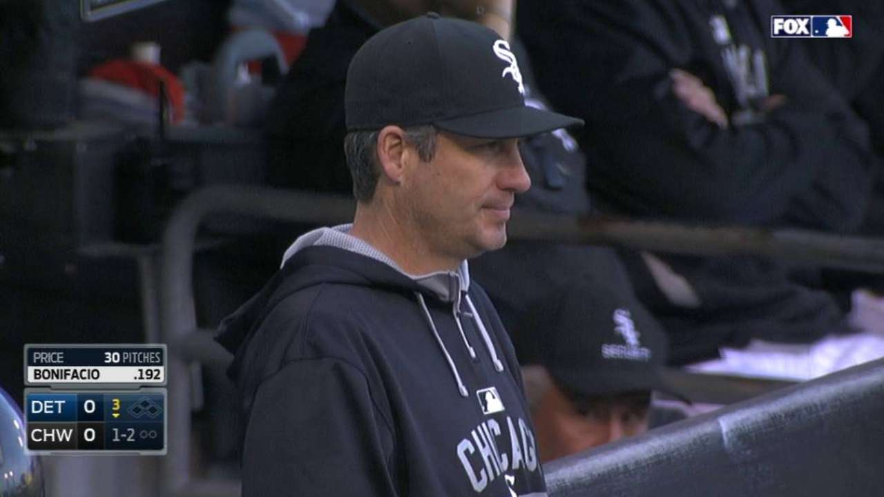 Ventura looks for bats to find consistency