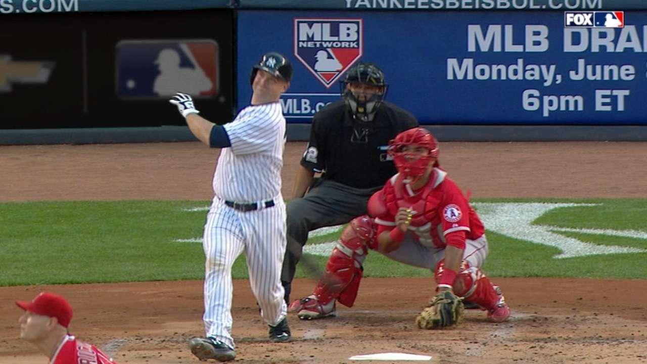 Yankees' six-run 1st inning