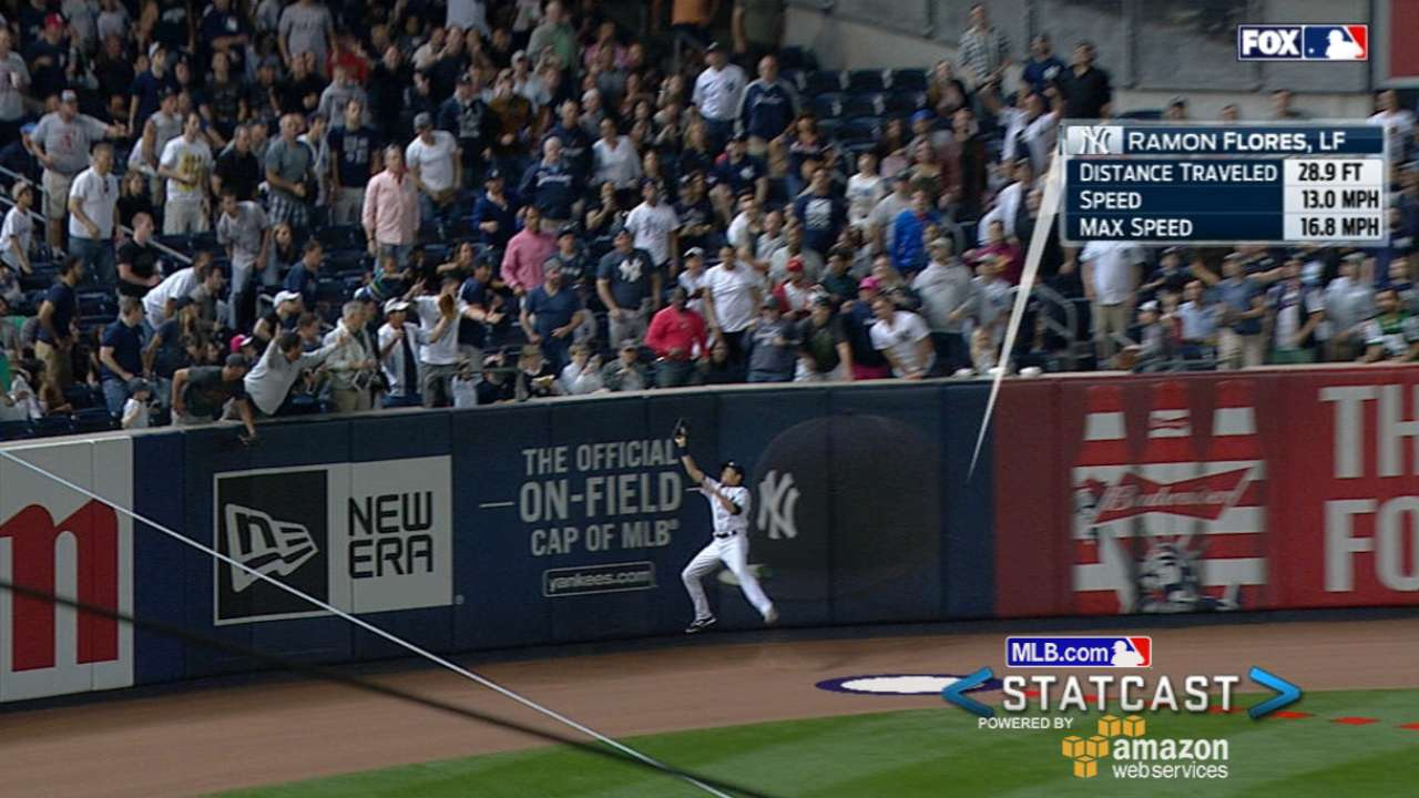 Statcast: Flores' nice catch