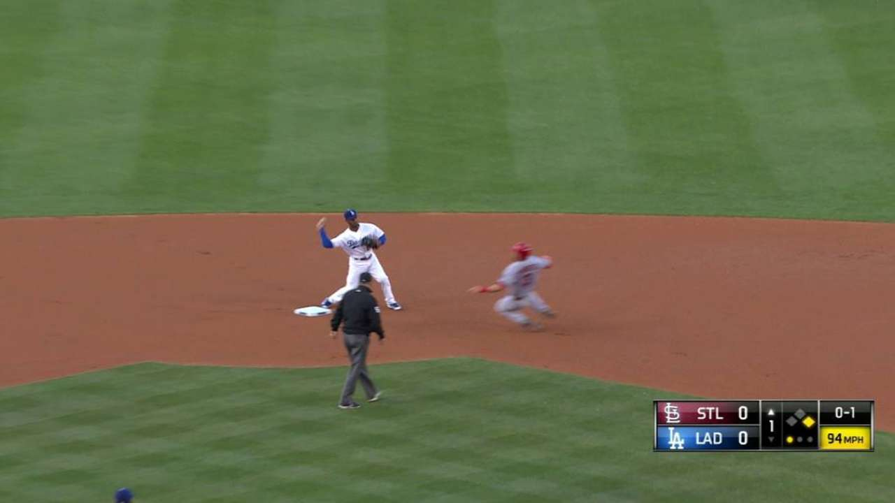 Kershaw gets double play