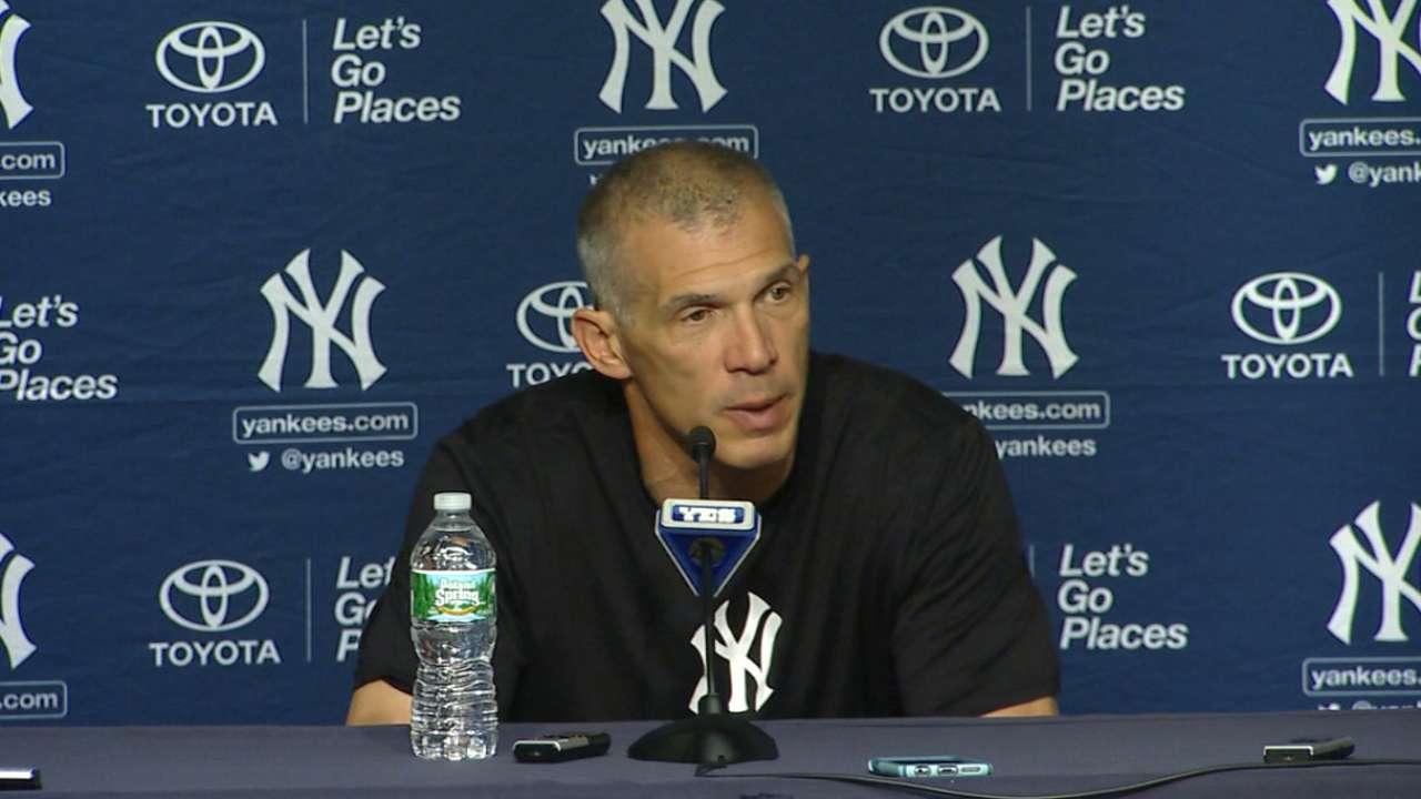 Girardi on Yankees' hot hitting