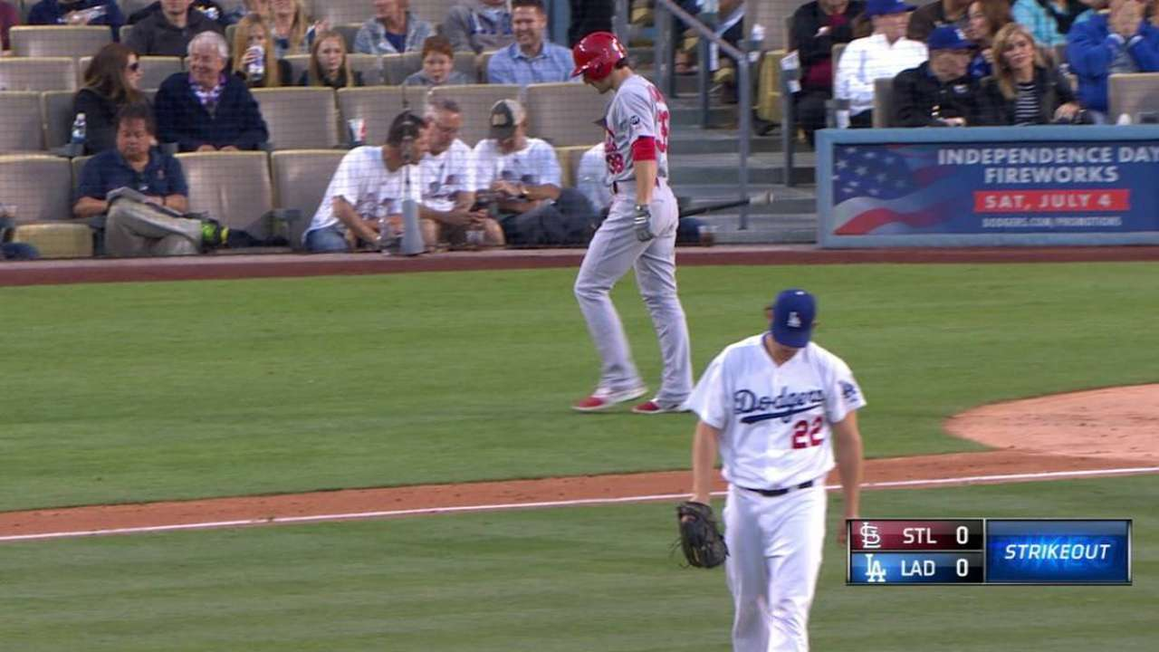 Cardinals don't have answer for Kershaw