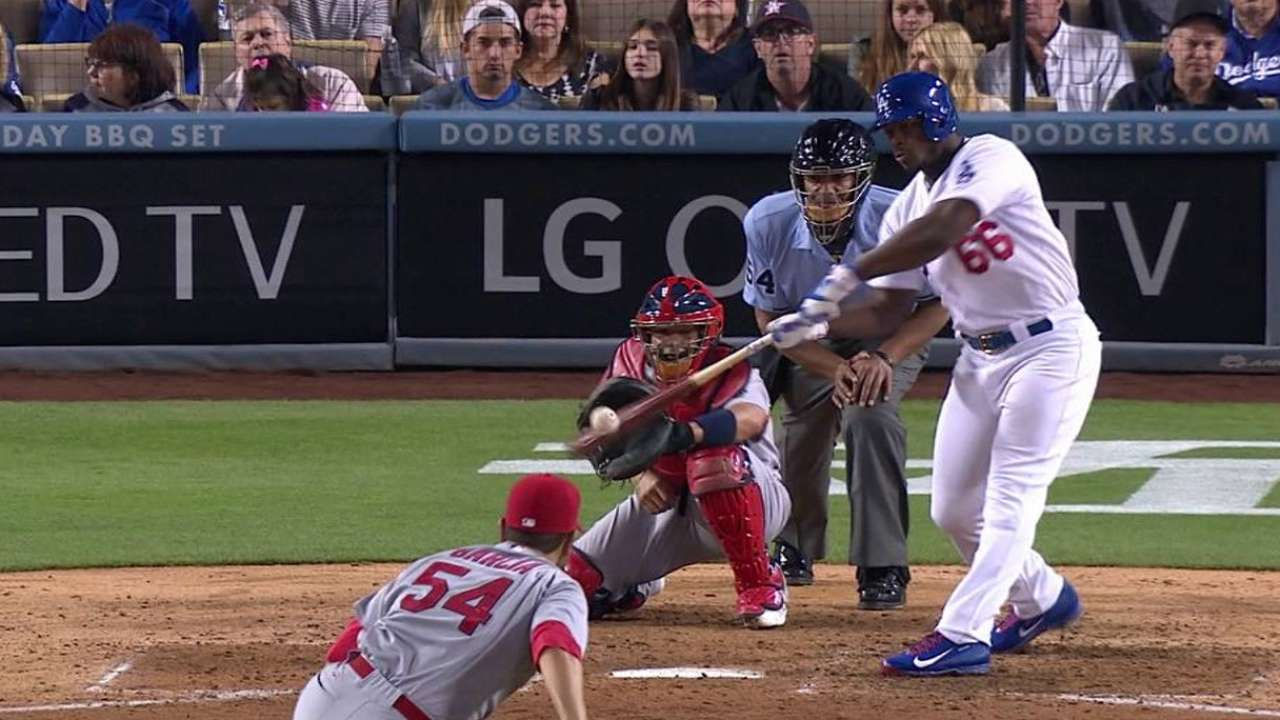 Puig's RBI double
