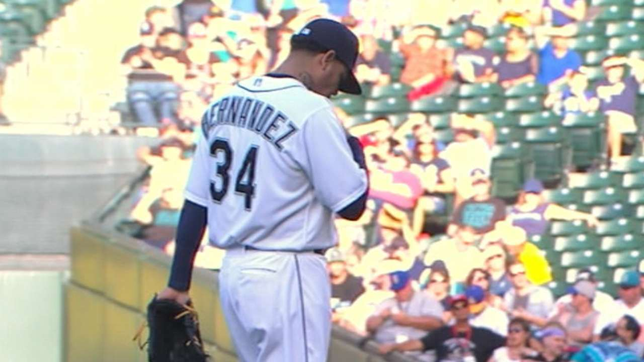 Felix dominates Rays for ninth victory